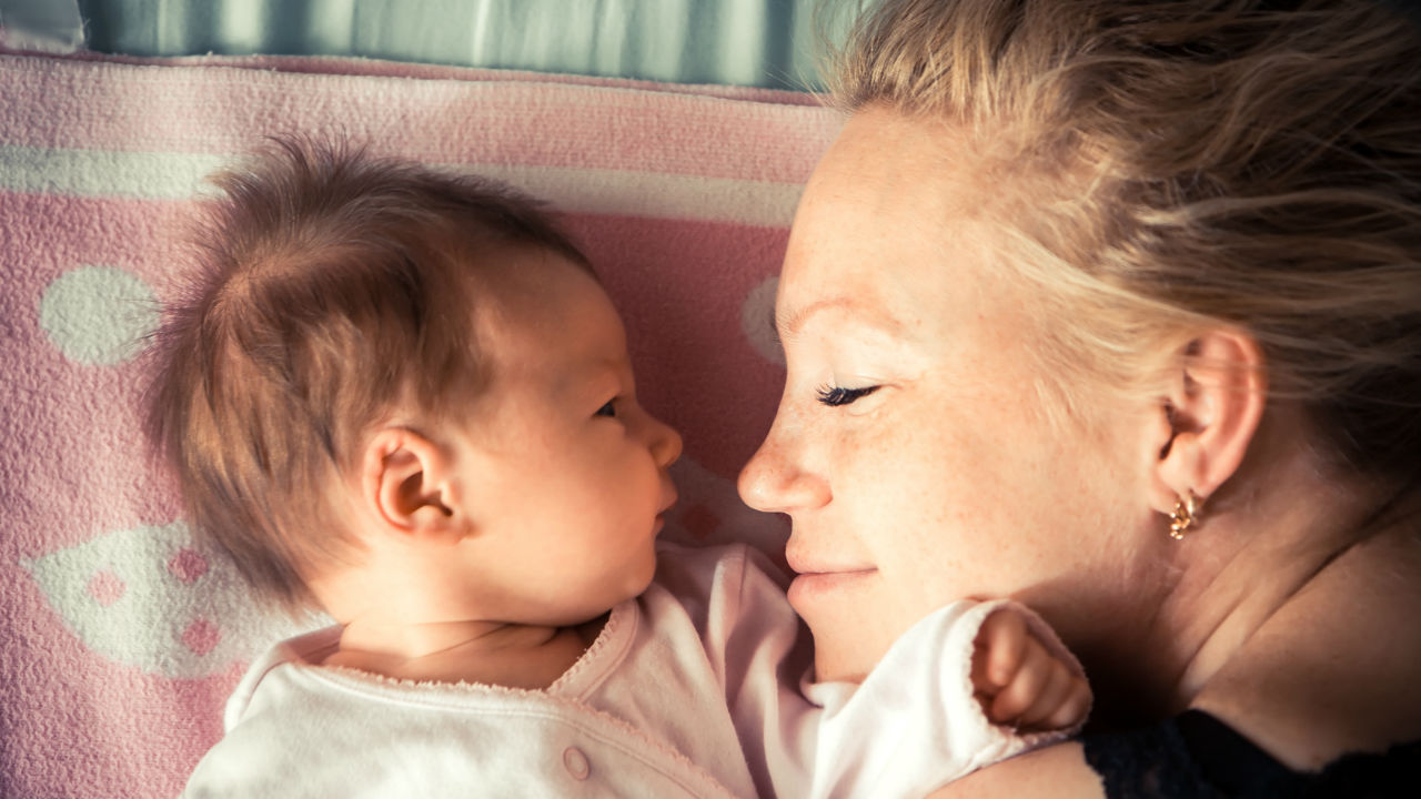 will I ever sleep again as a new mom