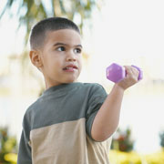 Weightlifting may be bad for boys
