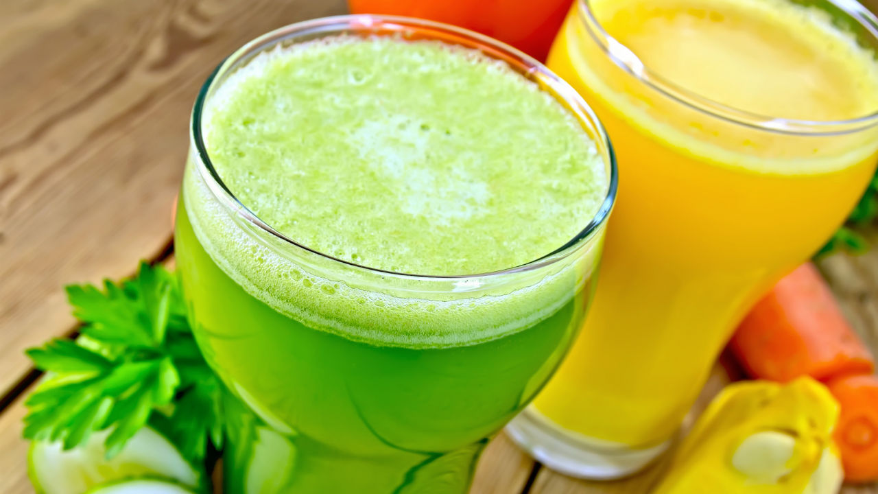 juice in cups