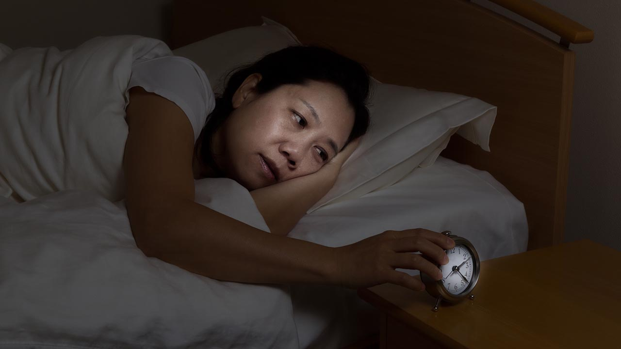 How Menopause Interferes With Sleep
