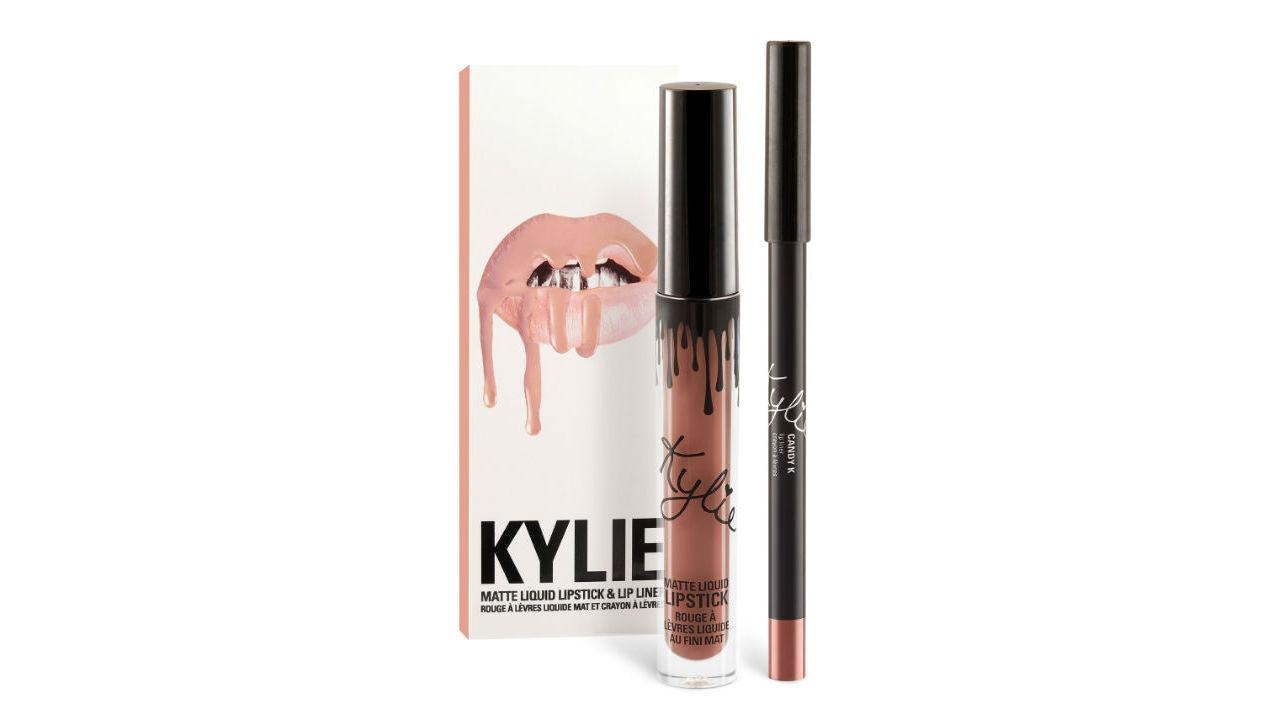 Kylie Jenner Matte Liquid Lipstick in Candy K