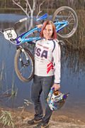 U.S.A. BMX Cyclist Goes Against Odds to Lead Country