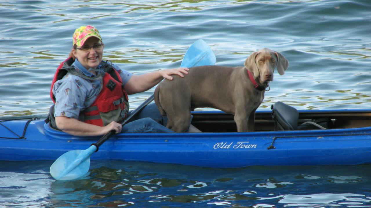 Mary Kyle kayak
