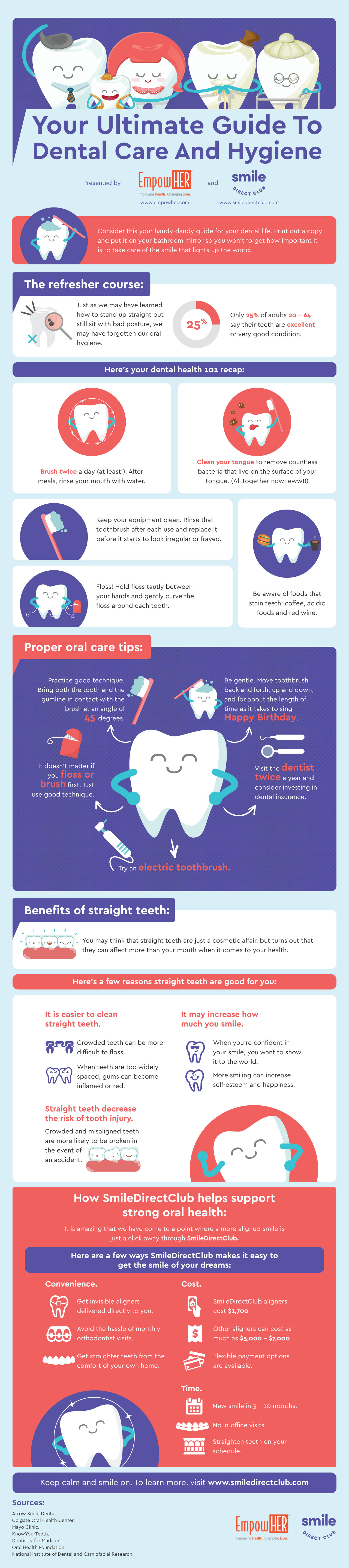 Infographic Your Ultimate Guide to Dental Care and Hygiene