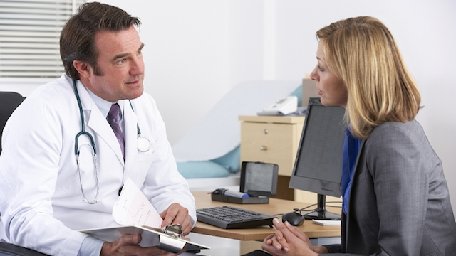 discuss treatment options for depression with your doctor