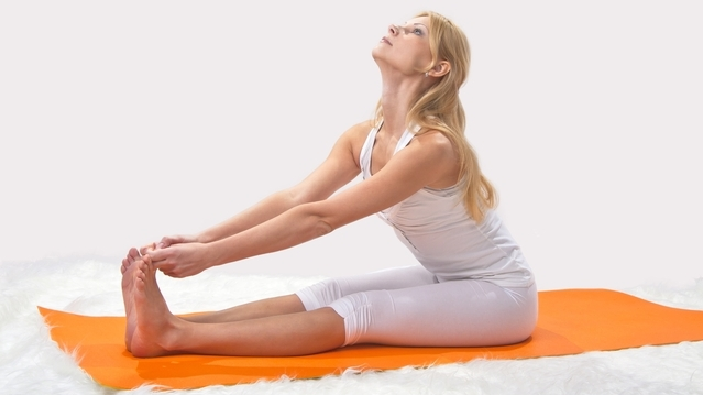 Make time for exercising with yoga