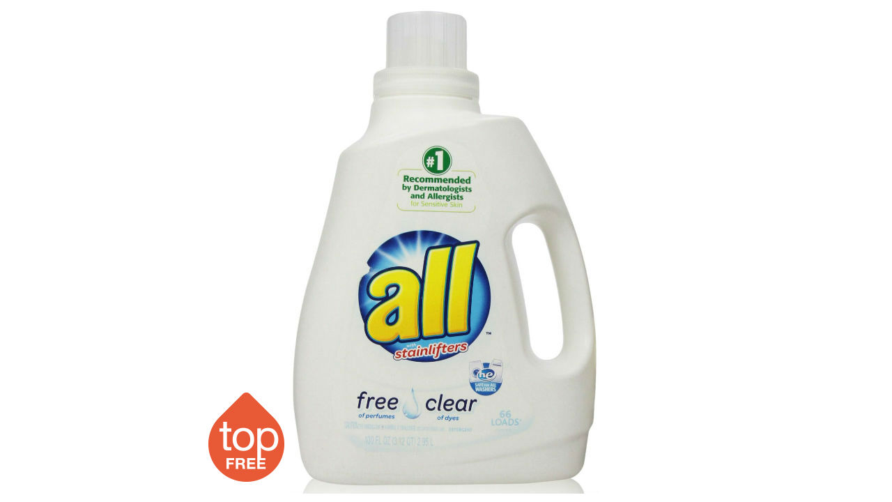 all liquid laundry detergent free and clear