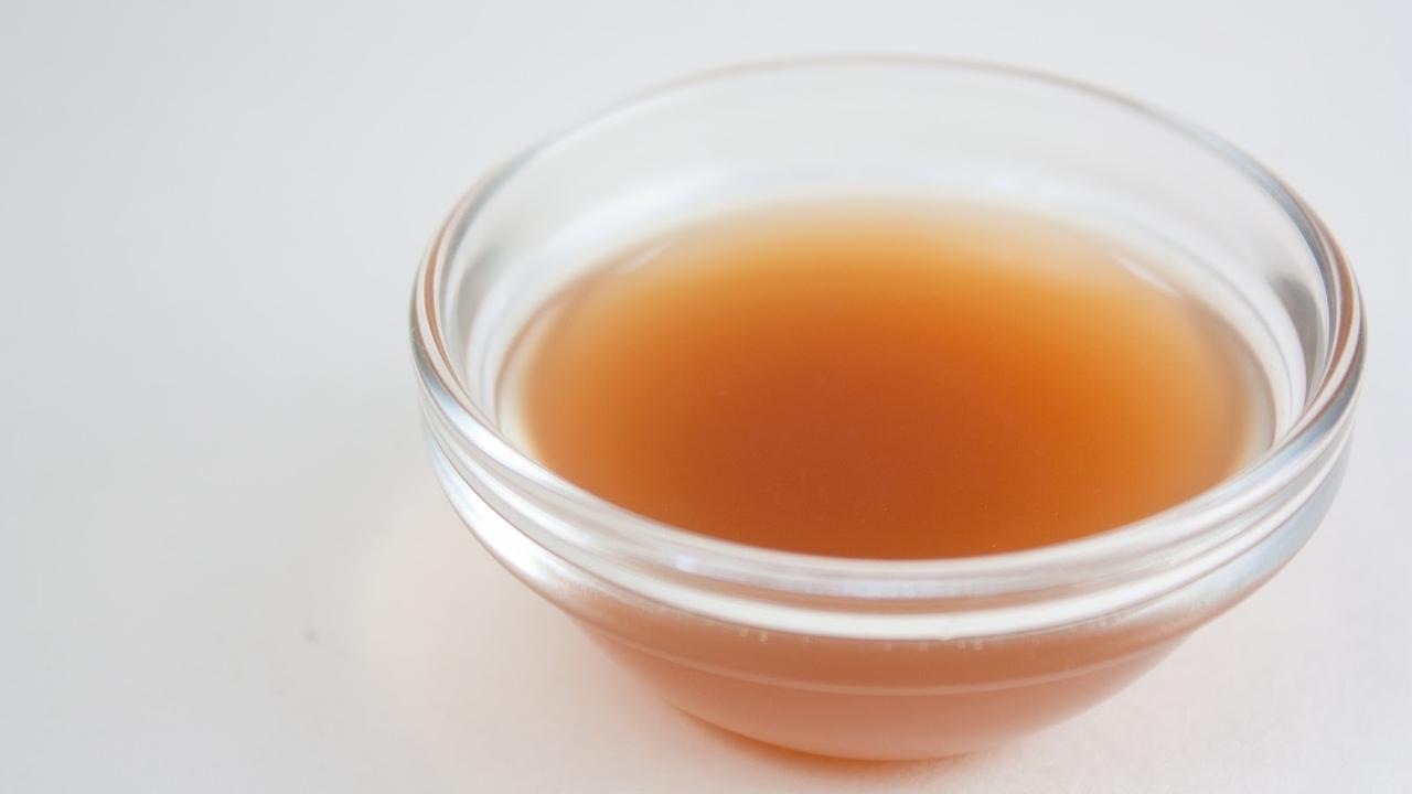 apple cider vinegar mouthwash