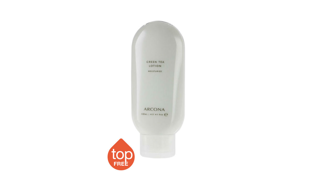 arcona green tea lotion