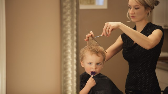 tips to help survive Baby's first haircut