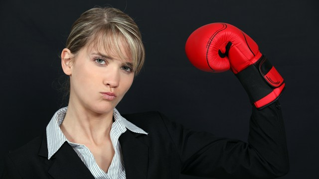 women and health: be fierce and aggressive
