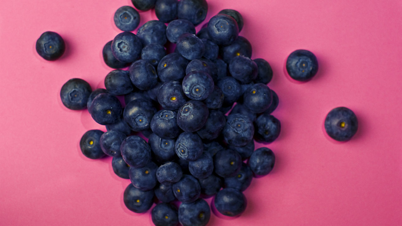 Blueberry Flax Smoothie