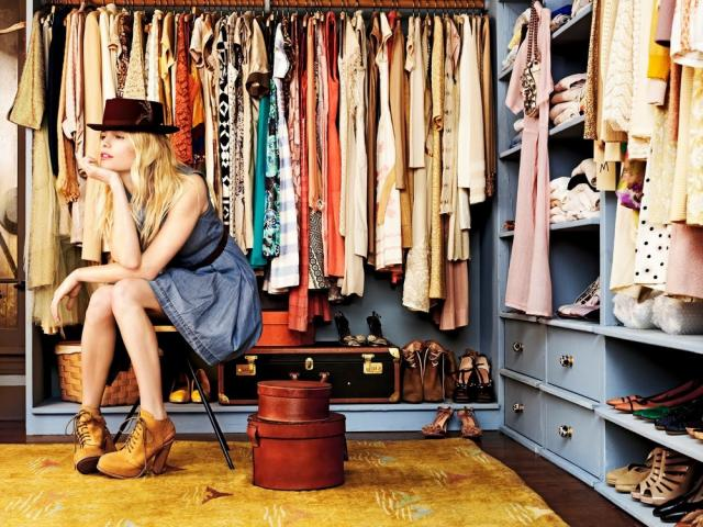 have an eco-friendly closet