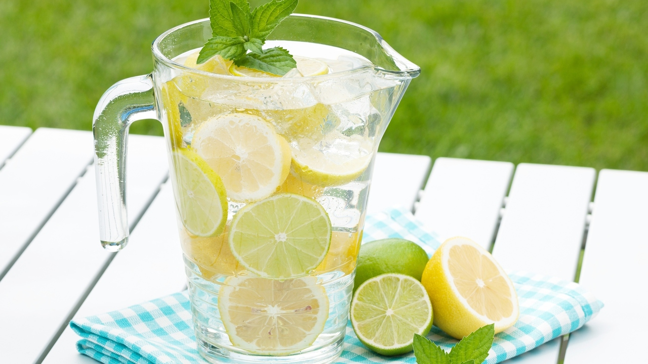 How to Make Drinking Water Fun With Fruit and Herbs