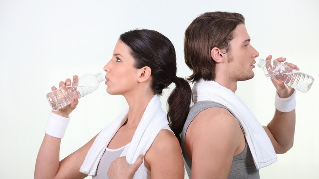 stay hydrated and healthy when exercise heats things up