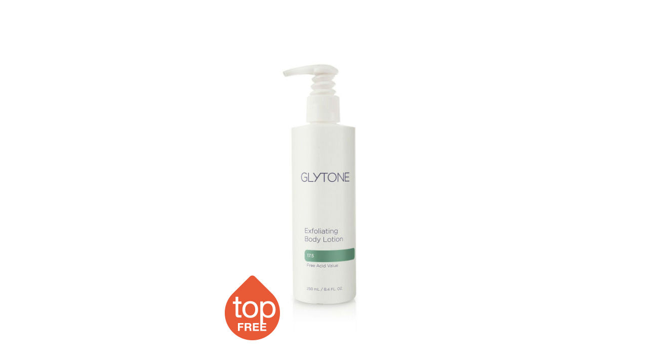 glytone exfoliating body lotion