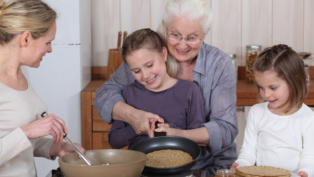 grandparents can teach us something about healthy eating