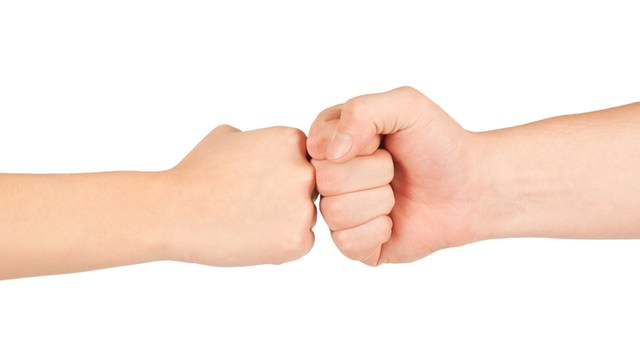 Handshakes Are Now Out, Fist Bumps Are In -- And More Healthy