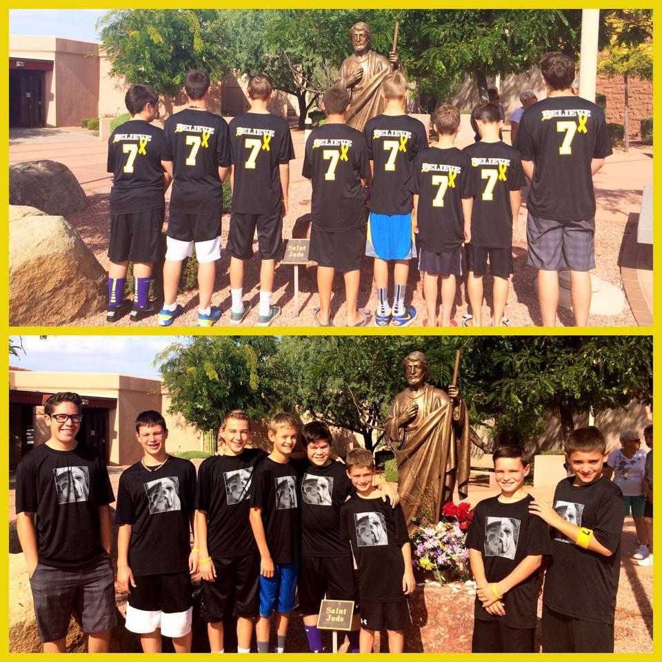 Andrew's baseball team