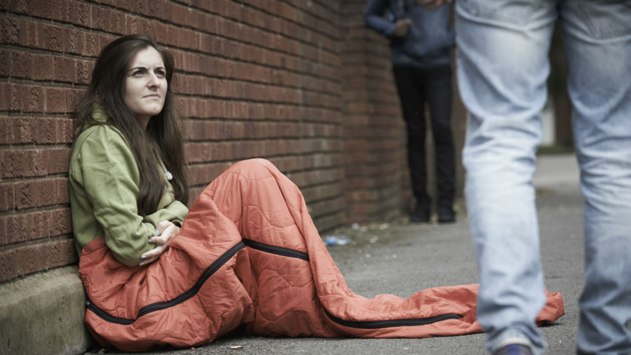 What It's Like to Be Homeless and on Your Period