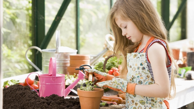 Horticultural Therapy Provides Benefits for Children