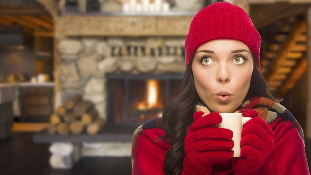 during winter cold, keep your home warm and safe