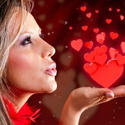 kissing a loved on can increase health for Valentine's Day