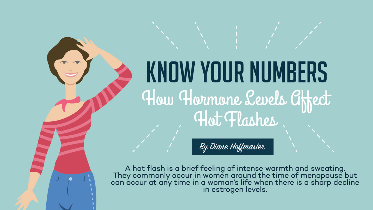 Know Your Numbers - How Hormone Levels Affect Hot Flashes