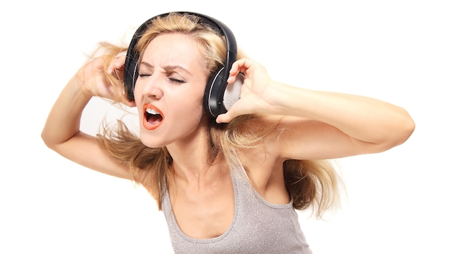 listen to music to help depression