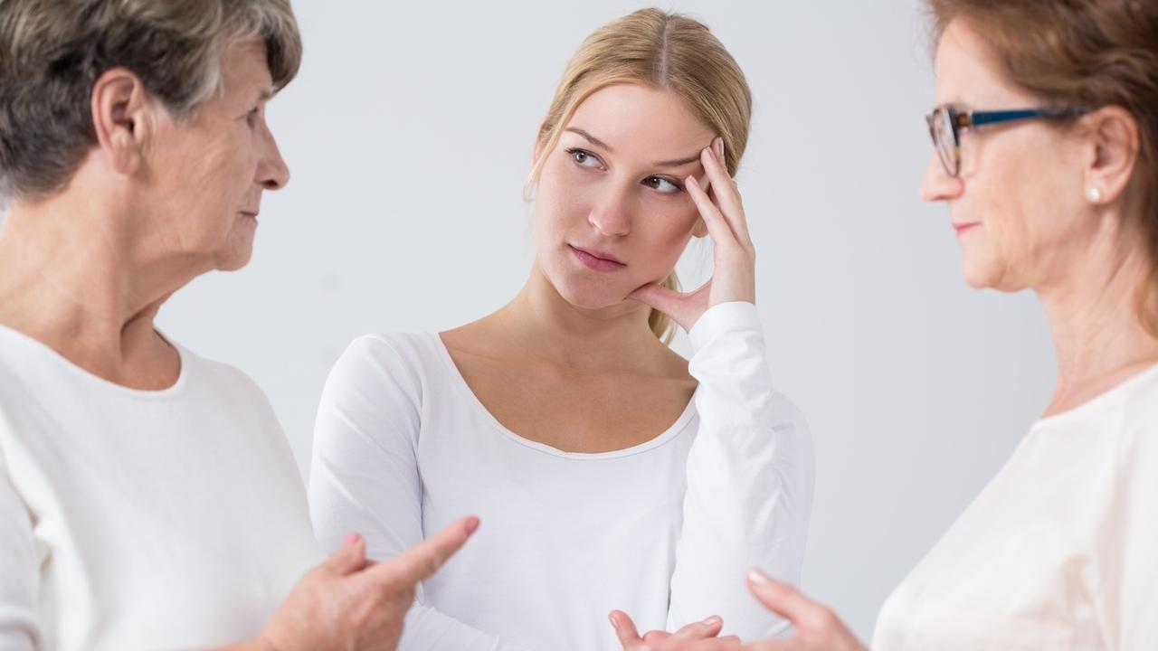 Mom's Eyes and Grandfather's PTSD: Genetic Inheritance of Trauma