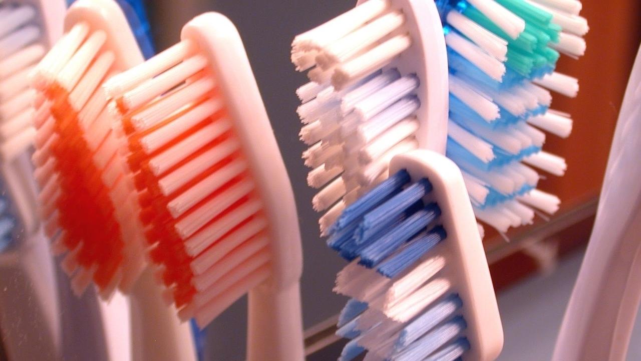 overused toothbrush