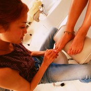 having a pedicure can offer risks and rewards