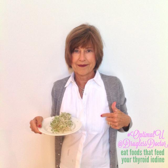 Alfalfa can help keep your thyroid healthy