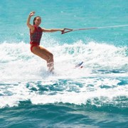 water skis and you