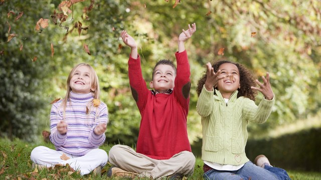 play outdoors: nature's ADHD solution