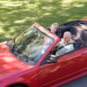 seniors behind the wheel for a road trip
