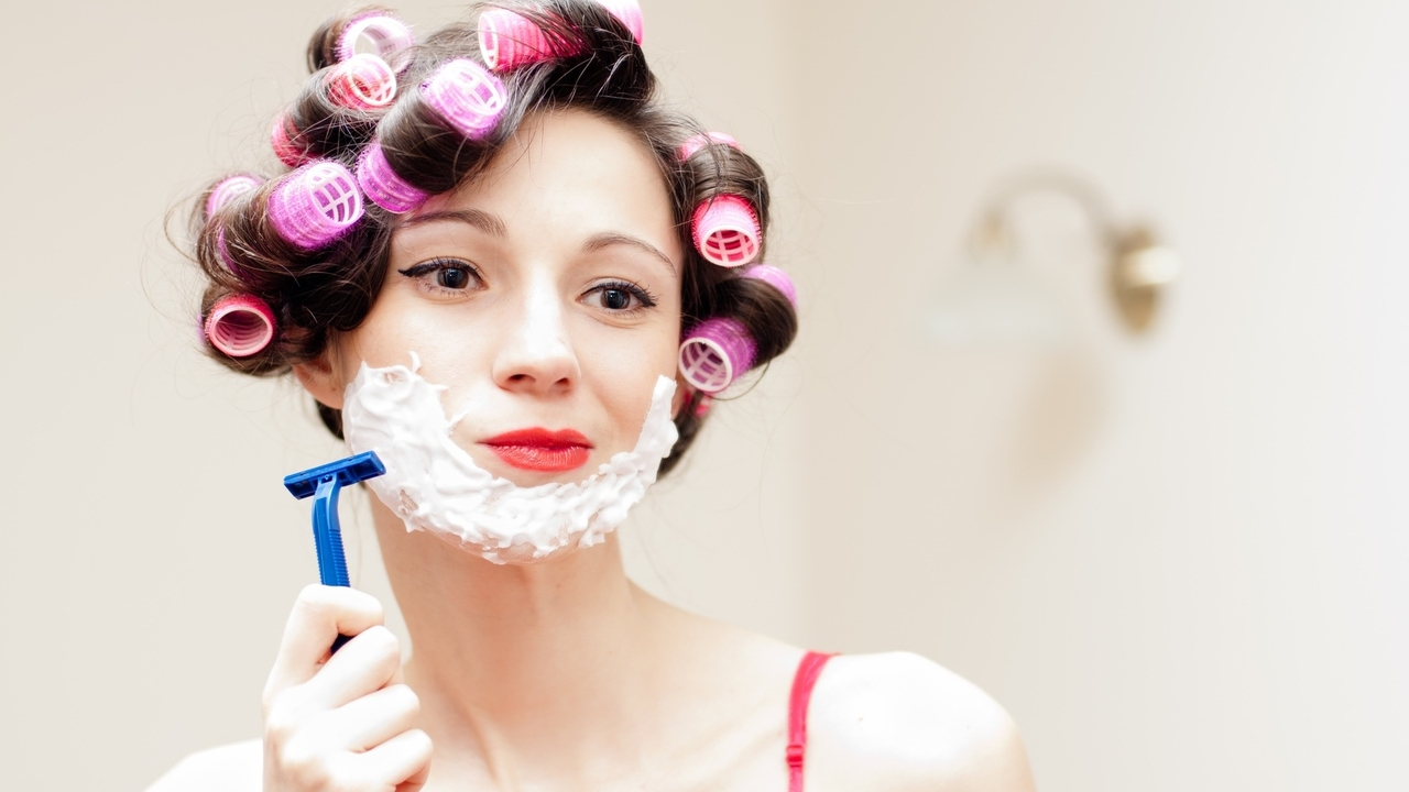 3 Reasons Some Women Are Shaving Their Faces
