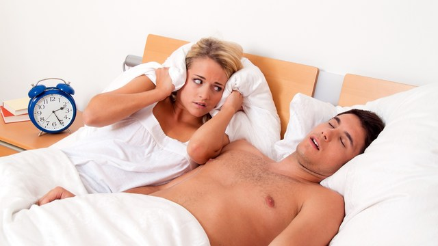 sleeping with a snorer? it could hamper a healthy lifestyle