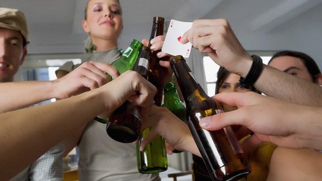biggest danger on spring break? booze binging