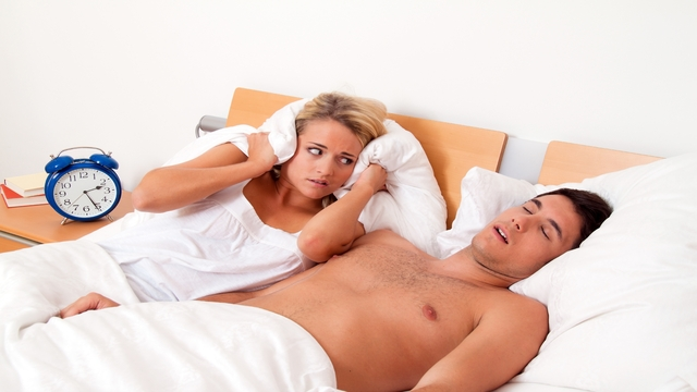 Snoring related image