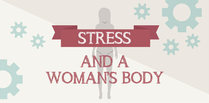 Infographic: Stress and a Woman's Body