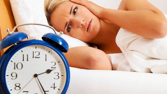 could stress be keeping you from sleeping?