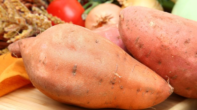 during November enjoy the harvest for National Sweet Potato Month