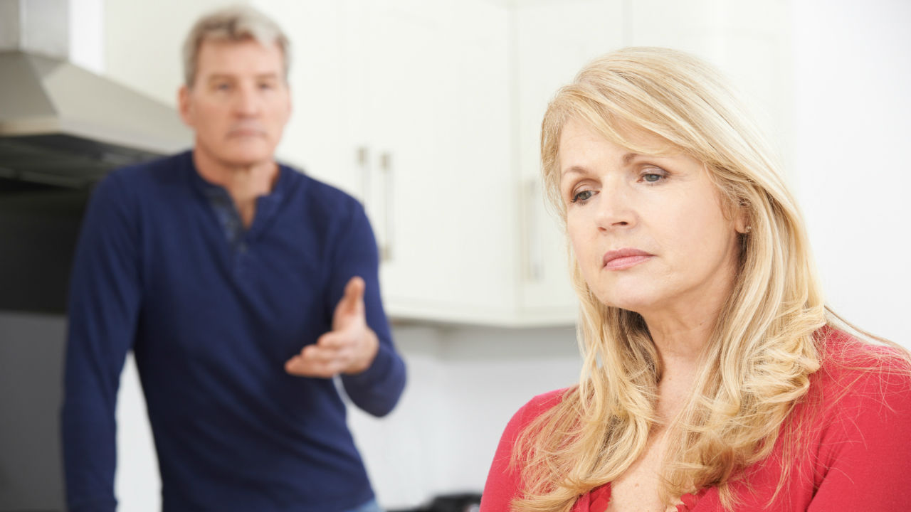 how to talk to husband about menopause