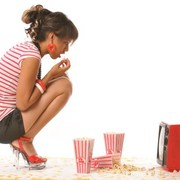 what if you just ate a TV diet, of food that's on television?