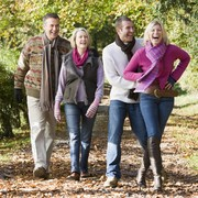 raising funds for diabetes through healthy walking