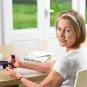 woman with diabetes must cope emotionally