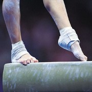 at the Olympic games women gymnasts have hit the mark