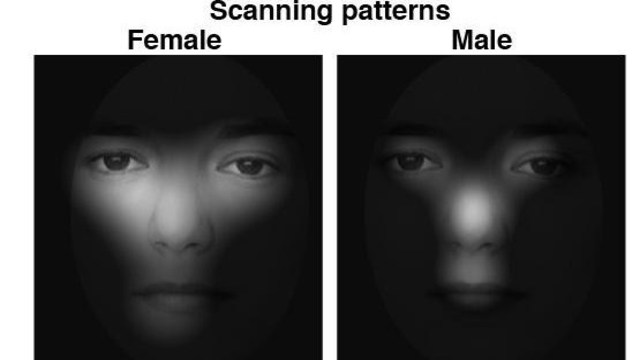 women are less likely to forget a face