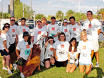 EmpowHer Team at Ovarian Cancer Run/Walk
